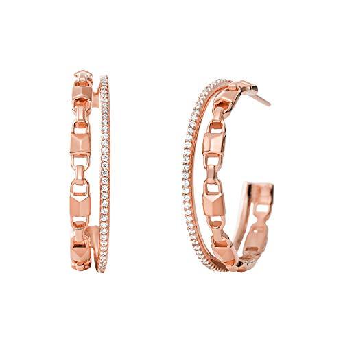 Michael Kors Women's Sterling Silver Earrings-MKC1014AN791