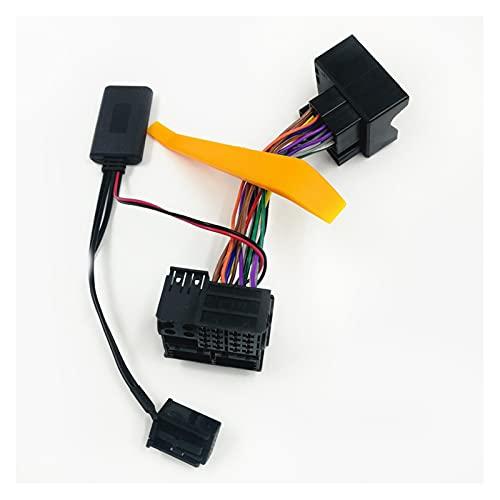 Development Bluetooth 5.0 Adaptador de Audio Cableado de arnés Completo Ajuste para Opel Corsa D Astra H Zafira MP3 CD60 CDC40 Radio (Color Name : Bluetooth Harness)