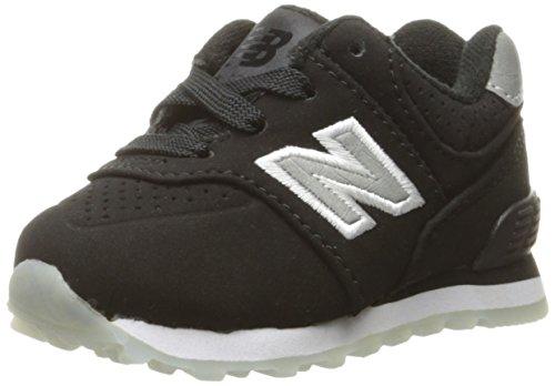New Balance Kl574, Zapatillas Unisex niños, Negro, 36 EU