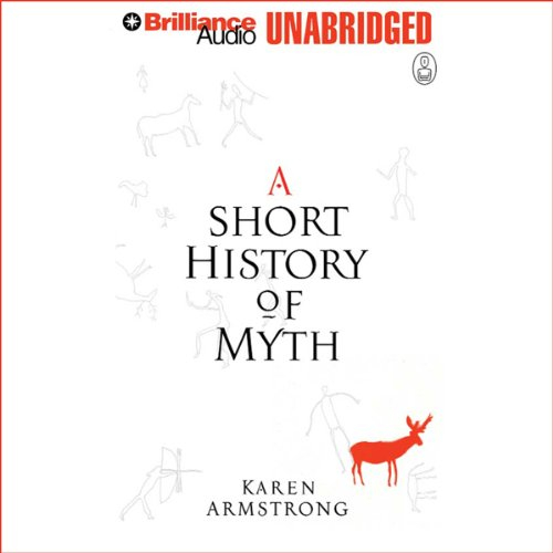 A Short History of Myth audiobook cover art