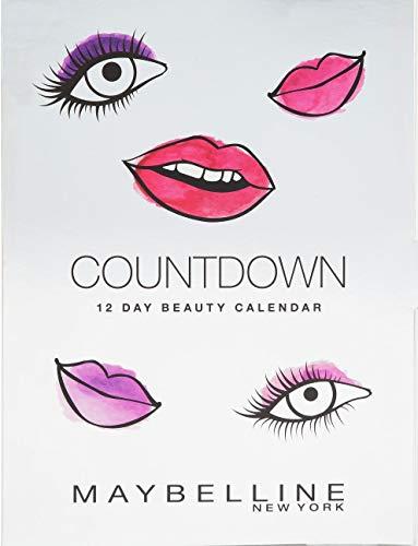 HMWD - Calendario de adviento con cuenta regresiva Maybelline - Regalo maravilloso para sus seres queridos
