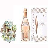 Champagne Vranken - Diamond Rose en caso de 150g y nougadets Hazel - Jonquier Dos Hermanos