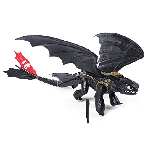 Dragons 6036764 - Main Line Barrel Roll Toothless, Action Figur, Dragons, Drachenzähmen leicht gemacht, Ohnezahn