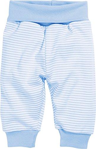 Schnizler Baby-Pumphose Interlock Ringel Legging, Bleu (White/Blue 117), 2-3 Ans (Taille Fabricant:98) Mixte bébé