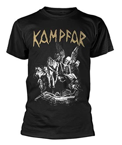 Kampfar 'Death' (Black) T-Shirt (xx-Large)