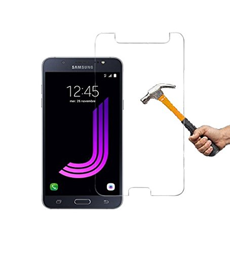 ino Panzerglas kompatibel mit Samsung Galaxy J7 J710 (2016) Schutzglas Panzerfolie Bildschirmschutzglas Tempered Glass Echt Panzer Glas Harte Folie Schutz Glasfolie Schutzfolie 9H