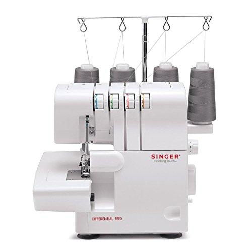 Singer 14 SH 654 4 hilo overlock máquina