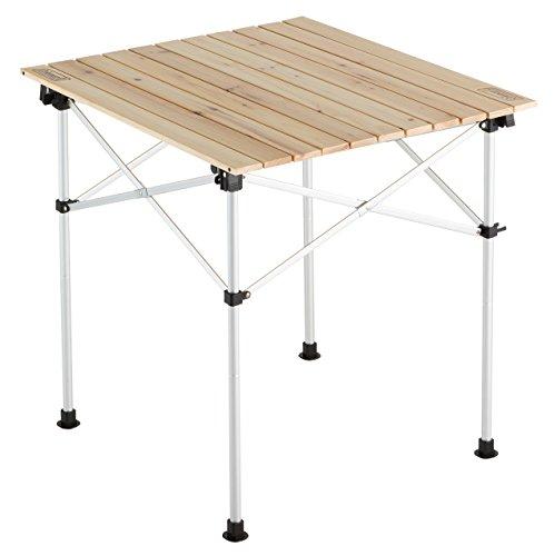 コールマン(Coleman) テーブル ナチュラルウッドロールテーブル 65 2000023502