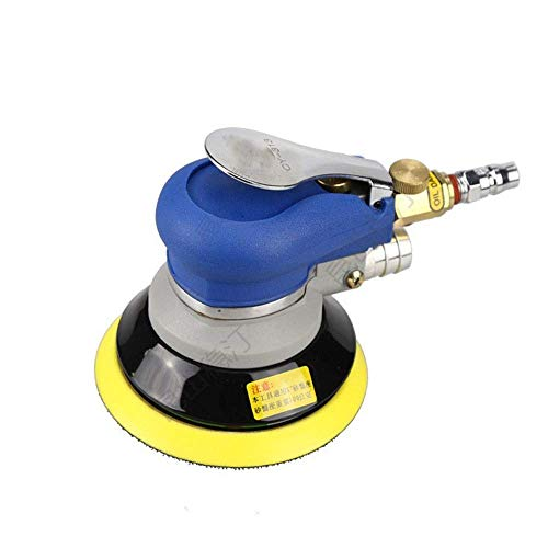 LIANGANAN Aspirador portátil Practica neumática eje excéntrico neumática, de 5 pulgadas de vacío de la máquina de lija especiales función Molino de Aire Herramientas de mano industriales