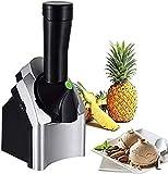 Máquina de helado casera Máquina de helado de frutas de postre que hace delicioso sorbete de helado y yogur congelado Máquina de sorbete casera de bricolaje cocina