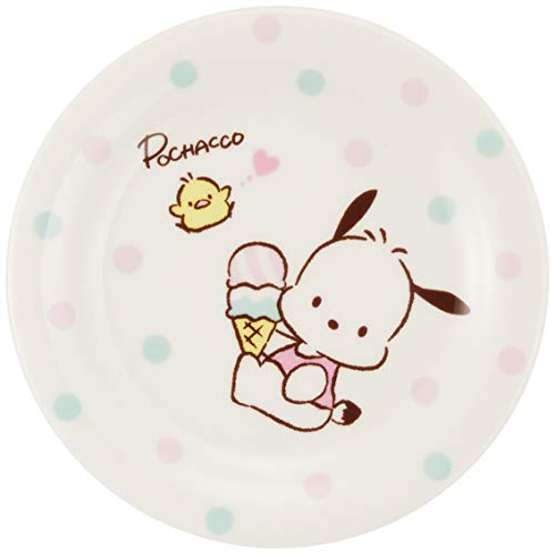 サンリオ(SANRIO) 「 ポチャッコ 」 アイス プレート 皿 直径15.5cm 白 306118