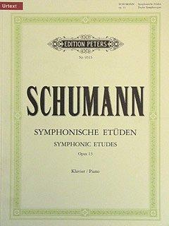SYMPHONISCHE ETUEDEN OP 13 - arrangiert für Klavier [Noten / Sheetmusic] Komponist: SCHUMANN ROBERT