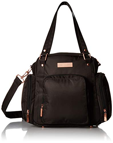 JuJuBe Travel Breast Pump Messenger/Tote Bag Rose Collection, Knight Rose