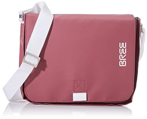 BREE Unisex-Erwachsene PNCH 61 shoulder bag Laptop Tasche, Rot (Rhododendron), 6x21x26 cm