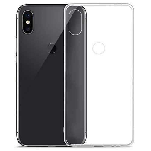 CoverKingz Handyhülle für Xiaomi Mi A2 Lite - Silikon Handy Hülle Mi A2 Lite - Soft Hülle Slim Cover Transparent