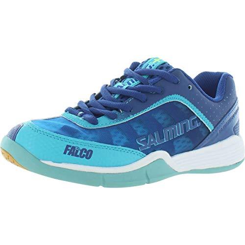 Salming Falco Damen Handballschuhe Limoges Blue/Blue Atol 36 2/3