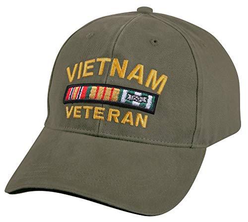 Rothco Vintage Vietnam Vet Low Profile Cap, Olive Drab