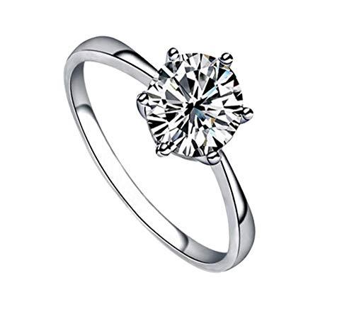 925 Sterling Zilveren Ring Verguld Echte Witgouden Diamanten Ring Zirkoon Sieraden Vrouwelijke Mode Wilde Sieraden Geschikt Voor Geschenken Voor Vriendin
