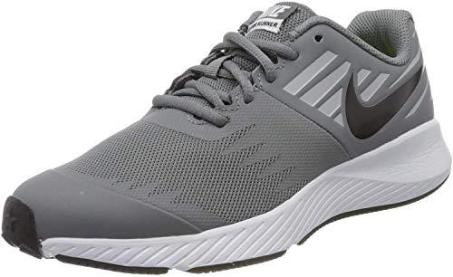 Nike Star Runner (GS), Chaussures de Trail garçon, Multicolore (Cool Grey/Black-Volt-Wolf Grey 006), 40 EU