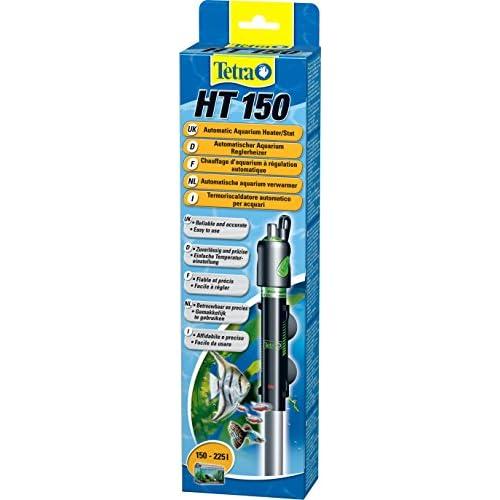 Tetra HT 150 - Potente Riscaldatore per Acquario per Coprire Diversi Livelli di Potenza con Manopola di Regolazione della Temperatura