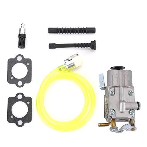 Emoshayoga Fiable Kit de Montaje de carburador de Alta dureza Carburador Accesorio de Repuesto Herramientas de jardín Fácil...