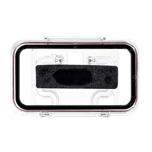 UKCOCO Wall Mounted Phone Case Shower Mount Shelf Holder Anti-Fog Waterproof Bathroom Phone Holder for Bathroom Mirror Bathtub Kitchen