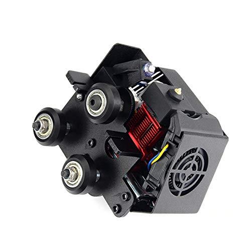 Kit de extrusora de piezas de impresora 3D, kit completo de extrusora ensamblado con cubierta de silicona para impresora CR-6 SE 3D compatible con filamento de 1,75 mm