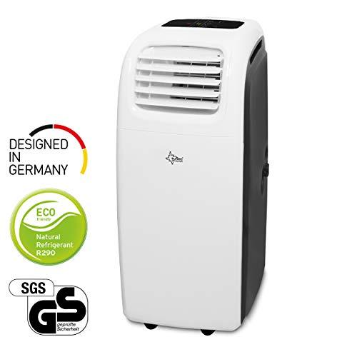 Mobiles lokales Klimagerät Transform 14.000 Eco R290 | geeignet für Räume bis 70 m2 | Kühler und Entfeuchter mit ökologischem Kühlmittel R290 | 14.000 BTU/h | Suntec Wellness