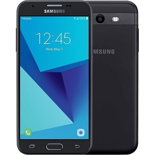 Samsung Galaxy J3 Prime J327T GSM Unlocked Android Smartphone - Black - (Renewed) (WILL NOT WORK FOR METRO PCS)