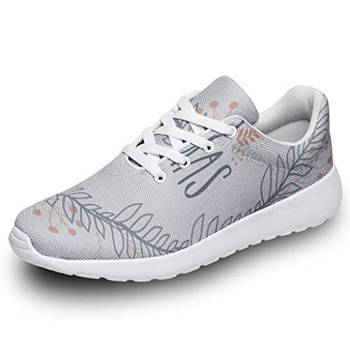 Zapatillas de Deporte para Hombre y Mujer, con diseño de Corona Estampada, Ligeras, para Caminar por la Calle, Color, Talla 44 EU