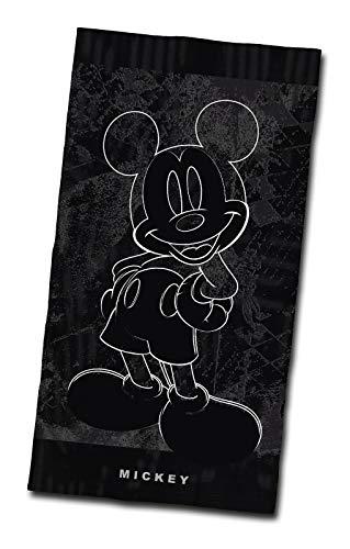 Tex idea Strandtuch Disney Mickey Mouse Strandlaken 80x160cm Velours Strandlaken