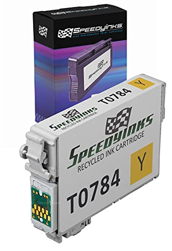 Speedy Inks - Remanufactured Yellow Ink for Epson 78 T078420 for use in Epson Stylus Photo RX580, Epson Stylus Photo R260, Epson Stylus Photo R380, Epson Stylus Photo R280, Epson Stylus Photo RX595