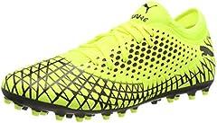PUMA Future 4.4 MG Botas de fútbol para Hombre,Amarillo ( Yellow Alert-Puma Black ) , 40 EU
