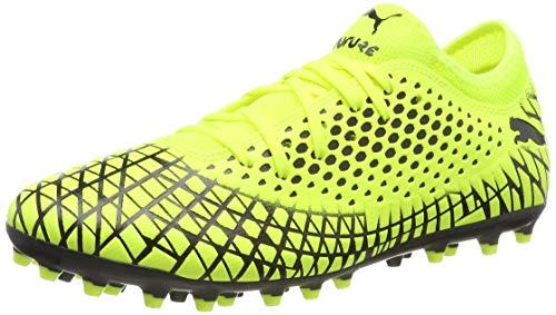 PUMA Future 4.4 MG, Botas de fútbol Hombre, Amarillo Yellow Alert Black, 43 EU