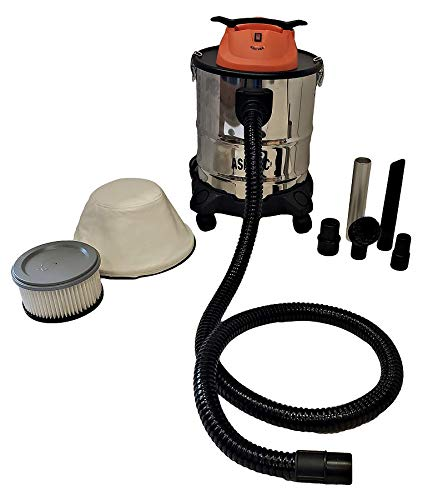 Pellethead Ash Vacuum Pro New 2020 Design for Fireplaces, Pellet Stoves, Grills, Pizza Ovens, Fire Pits