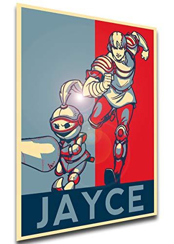 Instabuy Poster - LL0503 - Propaganda - Jayce and The Wheeled Warriors - Characters