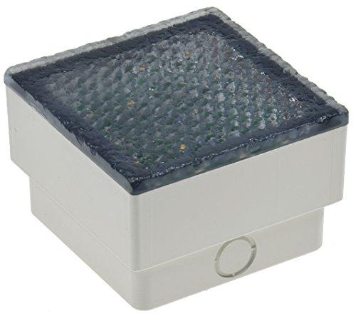 Brikx Lampe de sol à LED encastrable 10 x 10 x 7 cm 230 V I piétinable 10 kN I étanche IP67 I 230 V Blanc chaud