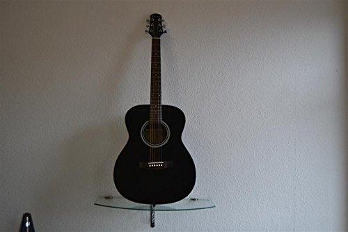 Billy Ray Acoustic Westerngitarre Gitarre TF 105 BK schwarz