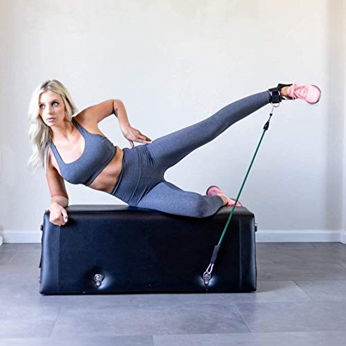 Zeno Gym Workout Bench One | Bench Press | Glute Raises | in-Home Work Out | Made with High-Density Foam | Anti-Slip | 50+ Exercises | Durable and Portable