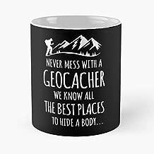 Love Geocaching Treasure Lost Hunt C 11 oz Mug Special gift for Halloween