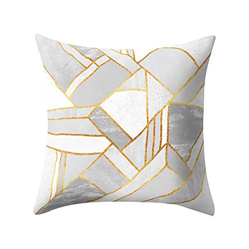 ADESHOP Home Decor Gifts Cushions Case, Classic Geometric Print Cushion Cover Festive Holidays Pillowcase Decors Valentine Gifts 18 * 18inch, A7