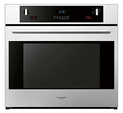 """Fulgor Milano F6SP30S1 600 Series Dual Fan Multifunction Pyrolytic Oven, 30"""", Stainless Steel"""