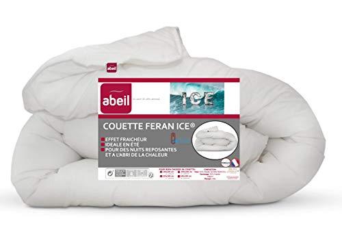 Abeil Couette Feran Ice Douceur et Fraicheur Blanc 240 x 260 cm