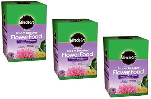Miracle Gro Garden Pro Bloom Booster 10-52-10 1 Lb. (3)