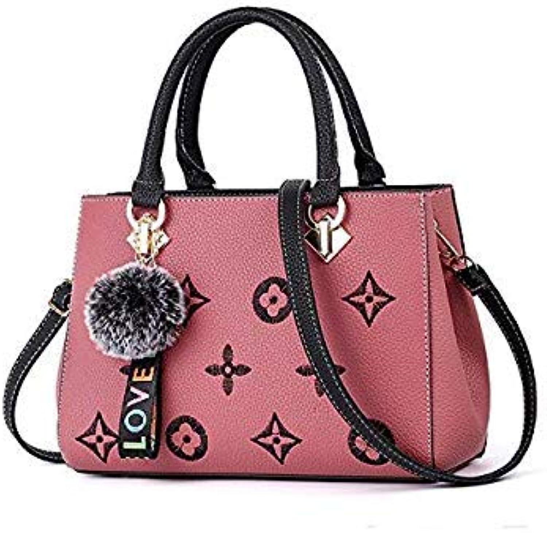 Fluffy Ball Embroidery Handbag Fashion Luxury Brand Ladies Single Shoulder luis vuiton o Bag David Jones bolsas Feminina Pink