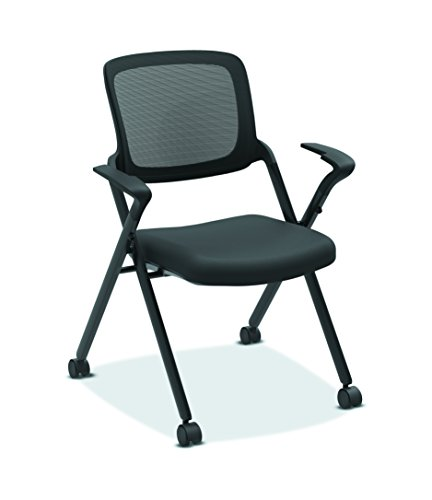 HON Assemble Mesh Back Nesting Chair - Stacking Chairs, Pack of 2 (HVL314)