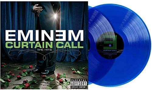 Tg Curtain Call Transparent Blue