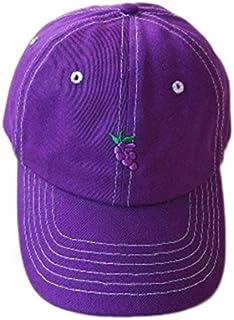 MKJNBH Fruit Embroidery Baseball Cap Harajuku Style Hip Hop Hat Summer Men and Women Fashion Wild