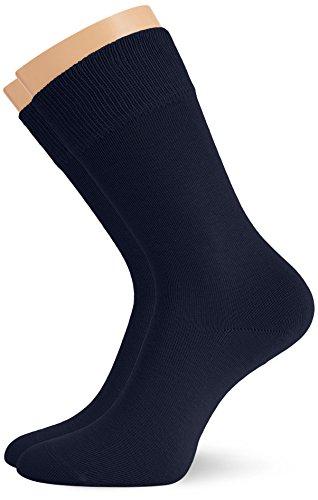Hudson Herren Socken, 024491 Only, 2er Pack, Gr. 43/46, Blau (Marine 0335)