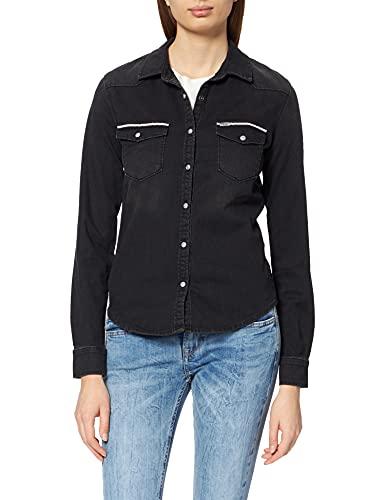 LTB Jeans Lucinda Camisa, Hara Ethno X Wash 53432-Limpiador, M para Mujer